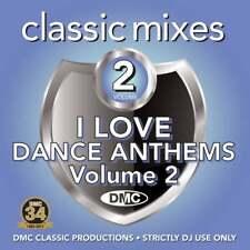 DMC Classic Mixes - I Love Dance Anthems Vol 2 Megamixes & Remixes DJ CD