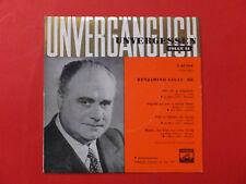 Benjamino GIGLI  III Opernarien <<ca 1960 Vinyl  Single<<<neuwertig<<<<<<<<<<<<