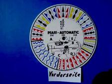 PFAFF 230, 232, 330, 332, 338 Automatik Nähmaschine Stich-muster Nähstiche.
