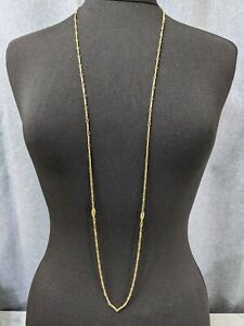 Lovely Vintage Jewellery Gold-tone Link Necklace