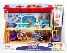 Muppet Babies Schoolhouse Playset w/ Kermit The Frog Figure, Disney Junior Toy