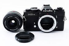 Minolta XD-s w /MC W.Rokkor 28mm f2.8 Lens [READ] from Japan