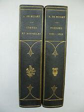 MUSSET (Alfred de). Poésies 1829-1852 & Contes et Nouvelles. ca 1920