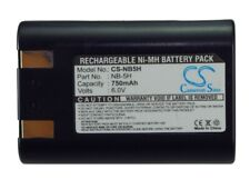 Replacement Battery For Canon 6v 750mAh Camera Battery