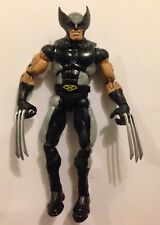 "MARVEL LEGENDS X-FORCE WOLVERINE BLACK & GRAY SUIT 6"" FAN MADE CUSTOM VERY GOOD"