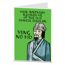 Funny Birthday Card Age Joke Perfect For 40th 50th 60th 70th Men & Women