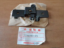 NOS OEM Honda Seat Lock Bracket 1984-1986 VF600C Magna 77160-MB1-870
