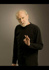 """George Carlin /""""Atheism Is A Non /"""" Quote Poster Print 7/""""x21/"""" On Matte Canvas"""