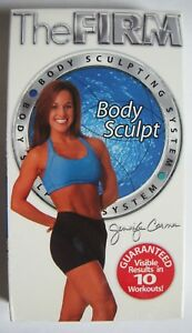 The Firm Body Sculpting VHS Jennifer Carmen Vintage Workout Exercise Fitness NEW