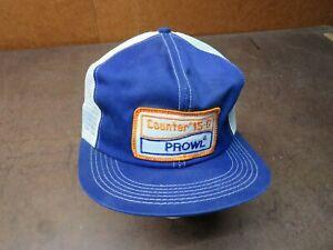 Vintage Mesh Prowl Counter 15-G snapback hat trucker farm agriculture patch cap