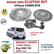 Para Renault Twingo 1.5dCi 64bhp Motor: K9K 740 2007- > En Nuevo 3PC Clutch Kit