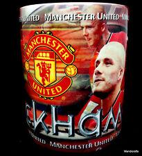Coffee Mug Soccer Beckham Manchester United UK Wrap Photos 9oz Sport Cup