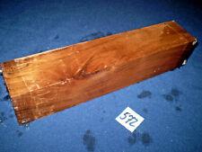 Nussbaum Kantel drechseln schreinern schnitzen  275 x 55 x 55 mm   Nr.572