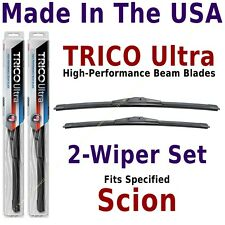 Buy American: TRICO Ultra 2-Wiper Blade Set fits listed Scion: 13-22-20