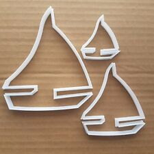 Yacht Sailing Boat Cookie Cutter Dough Biscuit Pastry Sail Vehicle Shape Stencil