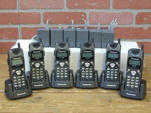 Panasonic KX-TD7680 2.4 GHz Wireless/Cordless Telephone Handset >>BUNDLE OF 6<<