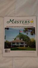 2013 The Masters PGA Tour Magazine Tiger Phil Bubba Brand New! L@@K!!!
