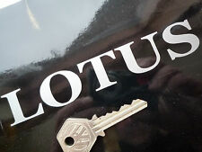 "Corte estilo Lotus serif texto más tarde Vinilo Coche Adhesivo 5.5"" Elan Exige Elise Esprit"