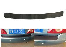 4D Carbon Fiber For Auto Rear Bumper Trunk Tail Lip Protection Car Decal Sticker