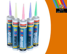 Yellow Orange Colour Silicone Sealant Soudal 310ml RAL 2000 Indoor & Outdoor use