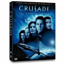 CRUSADE THE COMPLETE COLLECTION BABYLON 5 SEQUEL NEW 4 DVD 13 EPISODES BOXSET R4