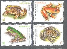 Australia-Frogs set 2018 mnh