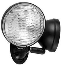 *New* Hubbel Dual Lite Omsdb1212 Outdoor Remote Twin Head Light Fixture - Black