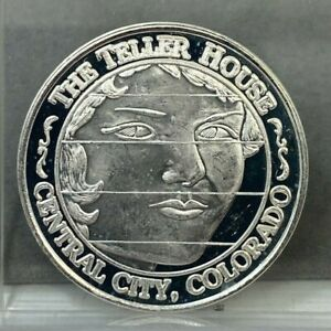 American Wild Life Series The Teller House Central City Colorado .999 Silver