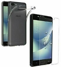 Coque Etui Housse + Vitre Protection VERRE TREMPE Asus Zenfone 4 Max ZC520KL