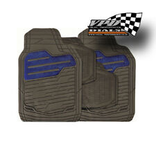 Car Mat sets 4 piece in Blue and Black full set Universal Fit Protectors
