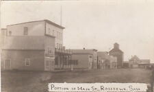 RP: ROSETOWN , Sask. , Canada , 1910 ; Portion of Main Street