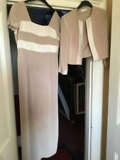 Condici Mother Of Bride Size 14 Long Dress And Jacket Stunning.