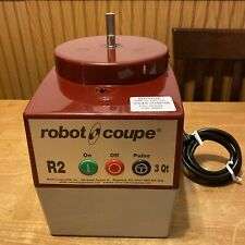Robot Coupe R2 3 Qt Food Processor Does Not Work For Parts Or Repair Has Damage
