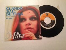 V13> 45 giri - Cuando sali de Cuba / M'ama non m'ama - Milva