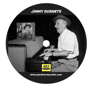 JIMMY DURANTE SHOW (45 SHOWS) OLD TIME RADIO MP3 2 CD'S