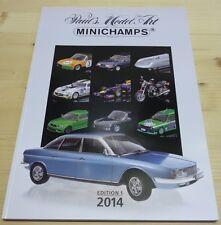 Katalog Minichamps 2014 Edition 1 - Neu