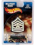2002 Hot Wheels MILITARY RODS Army Surfin' School Bus