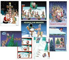 Assortment Pack of 24 Funny Christmas Cards - 85