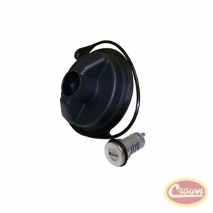 Gas Cap (Locking - Uncoded Cylinder) - Crown# 68030940AA