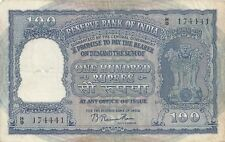 RESERVE BANK OF INDIA | ONE HUNDRED RUPEES | INDIAN NOTE |