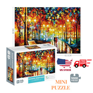 Puzzles 1000 Piece Jigsaw Puzzles for Adults Kids Classic Family Puzzle A8S3
