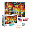 1000 Piece Jigsaw Puzzle Walking in The Rainy Night Puzzle for Adult and Kids