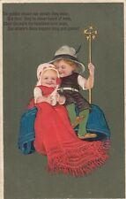 CHILDREN : 'No golden crown nor jewels they wear ....' embossed