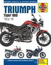 Haynes Manual 5752 for Triumph Tiger 800, XR, XRX, XRT, XC, XCX, XCA (10 - 19)