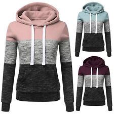 Women Casual Hoodie Sweatshirt Ladies Hooded Long Sleeve Tops Jumper Pullover