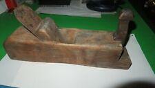 "Antique W. BUTCHER Wooden Wood Working Plane 10-1/2"" x 2"" ""CAST STEEL"" Blade"