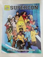 SUPERCON COMIC CONVENTION MIAMI OFFICIAL 2016 PROGRAM GUIDE MAGAZINE COSPLAY!