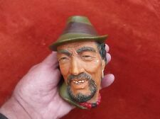 VINTAGE BOSSONS PLASTER PORTRAIT HEAD/BOSSONS HANGING CHALK FIGURAL H