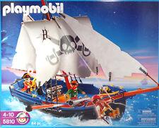 PLAYMOBIL US 5810 Korsarensegler Piratenschiff Boot Schiff ist schwimmfähig NEU
