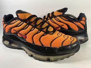 Nike Air Max Plus 360 Tn Tiger Orange Red Black Mens Size 11 Rare 333609-871